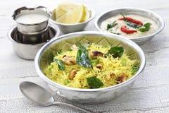 Indisches Südfrühstück Stockfoto