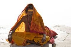 Indisches Sadhu Stockfotografie