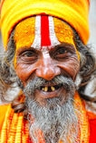 Indisches sadu 3 Lizenzfreie Stockfotografie