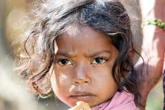 Indisches Stammes- Kind Lizenzfreies Stockbild