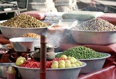 Indisches Straßenlebensmittel Stockfoto