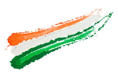 Indisches Tricolor vektor abbildung