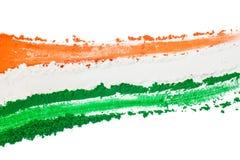 Indisches Tricolor Lizenzfreie Stockfotos