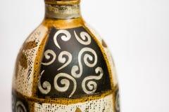 Indisches Vasenhandmädchen lizenzfreie stockbilder