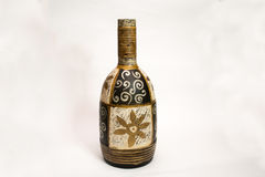 Indisches Vasenhandmädchen, Weinlese lizenzfreie stockfotos