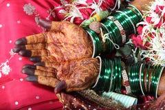 Indisches weddinh Lizenzfreie Stockbilder