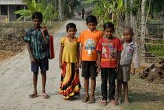 Indisk barnstatus Royaltyfria Foton