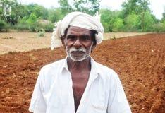 Indisk bonde arkivfoton