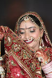 Indisk brud arkivfoton