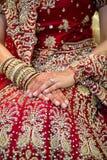 Indisk brudcirkel Arkivbild