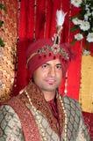 Indisk brudgum Fotografering för Bildbyråer