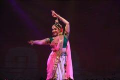 Indisk dansare Fotografering för Bildbyråer