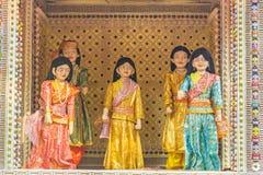 Indisk dockteaterföreställning Royaltyfri Bild