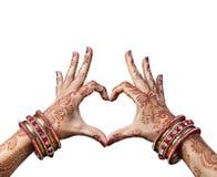 indisk förälskelse Arkivfoton