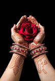 indisk förälskelse Arkivfoto