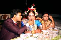 indisk förbindelse Royaltyfria Bilder