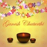 Indisk ferieGanesh Chaturthi vektor Royaltyfri Illustrationer