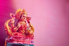 Indisk festival Diwali, Laxmi Pooja royaltyfria bilder