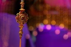 Indisk festival Raksha Bandhan, Raakhi Arkivbilder