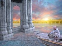 Indisk fiskare Arkivfoton