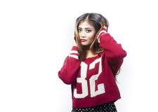 Indisk flicka Arkivfoton