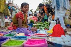 Indisk flicka Arkivbild