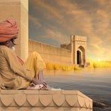 Indisk fort Fotografering för Bildbyråer