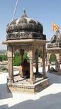 Indisk gammal tempel Fotografering för Bildbyråer