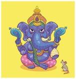 Indisk gud Ganesha Arkivfoto