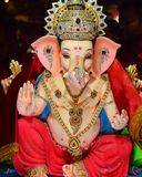 Indisk gud Ganesha Royaltyfri Bild