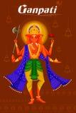 Indisk gud Ganpati Fotografering för Bildbyråer
