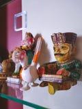 Indisk gud och folk dockor royaltyfria bilder