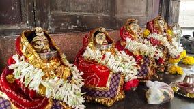Indisk gudinna Arkivbild