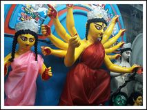 Indisk gudinna Royaltyfri Fotografi