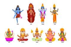 Tecknad kön indiska