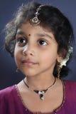 Indisk gullig flicka arkivfoton