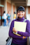 Indisk högstadiumflicka Fotografering för Bildbyråer