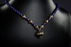 Indisk handgjord halsband Royaltyfri Fotografi