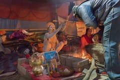 Indisk hinduisk sadhu Arkivbild