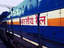 indisk järnväg fotografering för bildbyråer