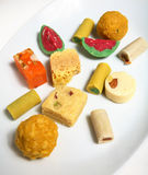 indisk kerala sötsaktradition Arkivbilder