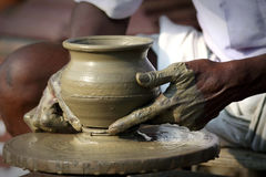 indisk keramiker Royaltyfria Bilder