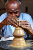 indisk keramiker Royaltyfri Bild