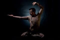 Indisk klassisk dans Royaltyfria Foton