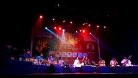 Indisk klassisk konsert Royaltyfria Bilder