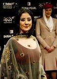 indisk koirallamanisha för aktris Arkivfoto