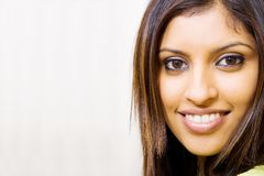 indisk kvinna royaltyfri bild