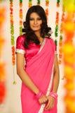 indisk kvinna Royaltyfria Bilder