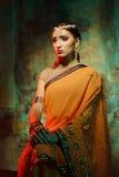 indisk kvinna Royaltyfri Foto