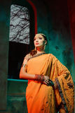 indisk kvinna Royaltyfria Foton